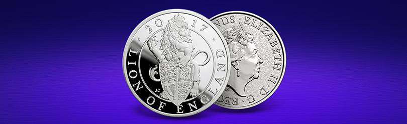 Platinum Queen's Beasts coin