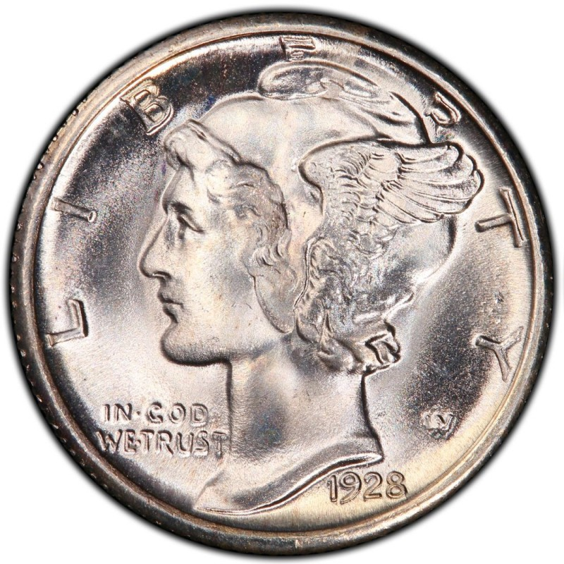 Mercury Dime 1928