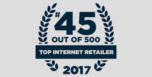APMEX ranks 45th of 500 top internet retailers