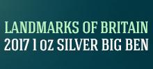 2017 1 oz Silver Big Ben