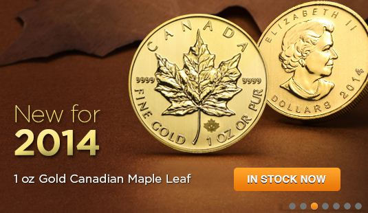 2014 1 oz Gold Maple Leaf