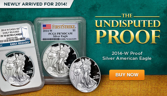 2014 Proof Silver Eagles