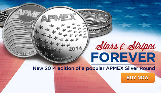 2014 APMEX Stars and Stripes Rounds