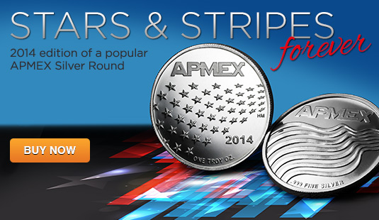 2014 Stars and Stripes Silver Rounds