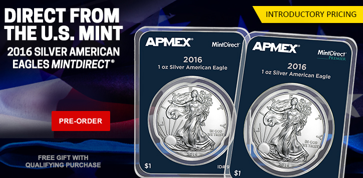 2016 Silver Eagles MintDirect Pre-sale