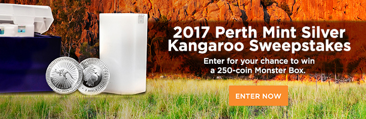 2017 Silver Kangaroo Mini Monster Box Sweepstakes