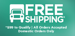 All precious metals orders over $99 qualify for free shipping. Proud to ship to all USA gold dealers and USA consumers.