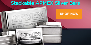 Stackable APMEX Silver Bars (M)