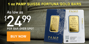PAMP Suisse Gold Bars (M)