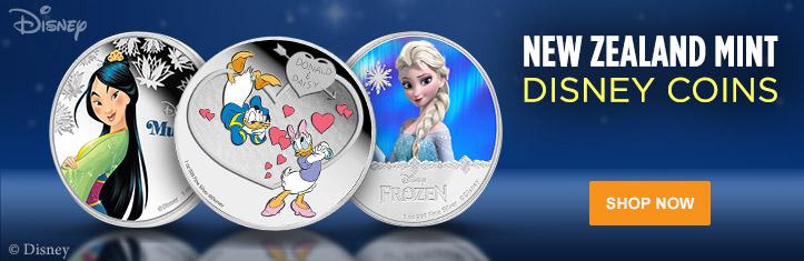 New Zealand Mint Disney Coins