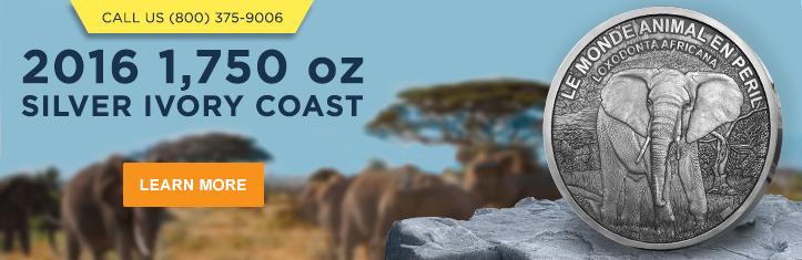 2016 1750 oz Silver Ivory Coast Elephant category