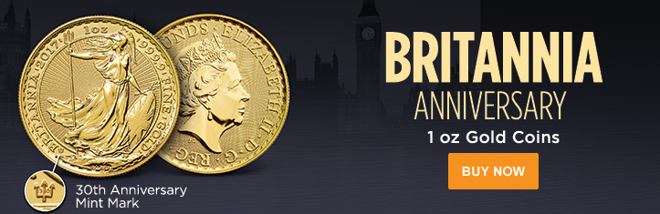 1 oz Gold Britannia (30th Anniversary)