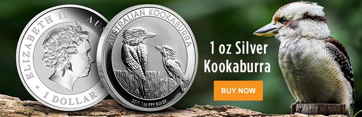 2017 1 oz Silver Kookaburra
