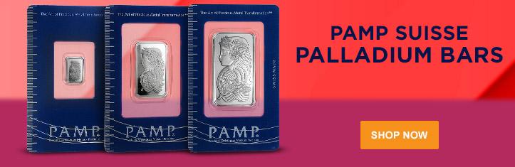 PAMP Suisse Palladium Bars