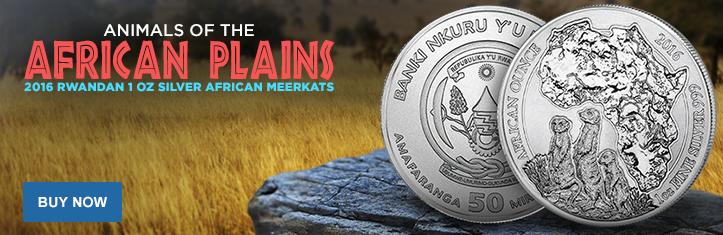 1 oz Silver African Meerkats