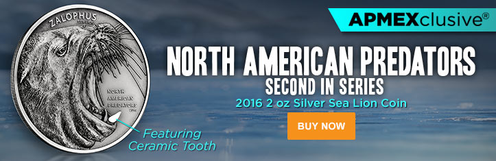 2016 2 oz Silver Sea Lion category