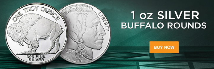 1 oz Silver Buffalo Rounds category