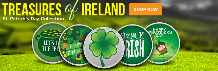 St. Patrick's Day Silver Rounds