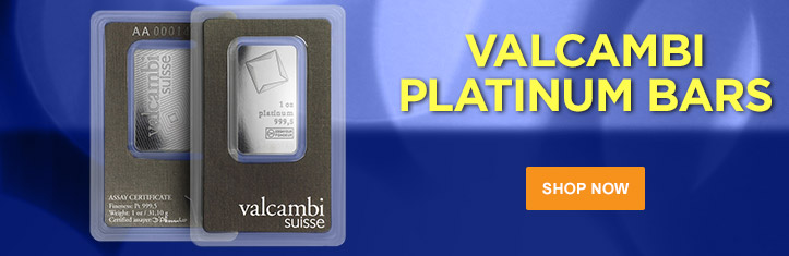 Platinum Valcambi Bars