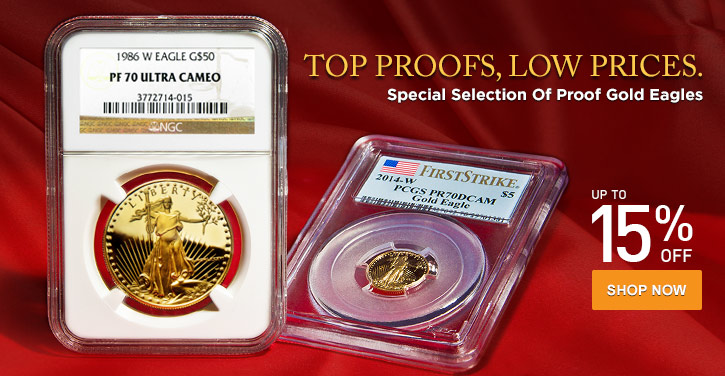 Certified Proof Gold Eagles