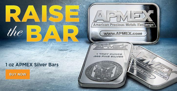 1 oz APMEX Silver Bars