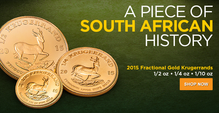 2015 Fractional Gold Krugerrands