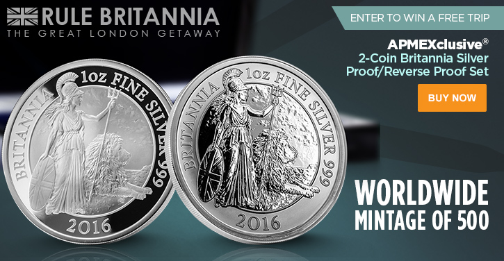 2-Coin Britannia Set