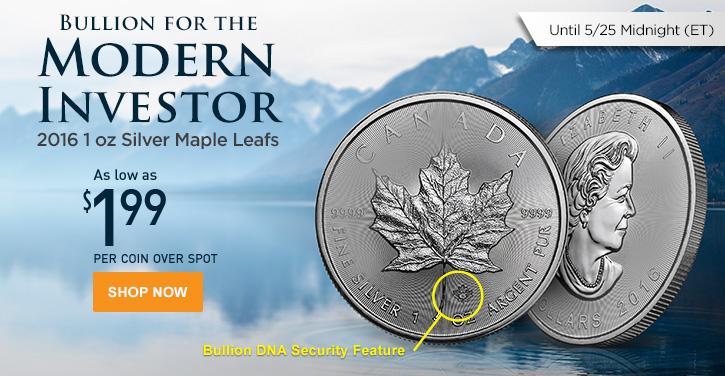 2016 Silver Maple Leafs