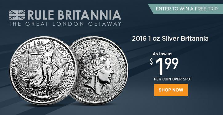 Royal Mint Month: Silver Britannias