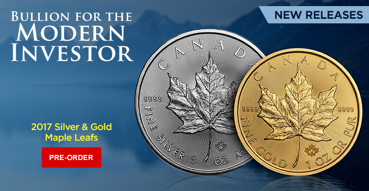 2017 Silver and Gold Maple Leafs