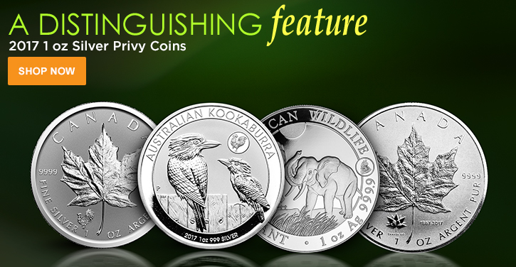 2017 Silver Privy Coins