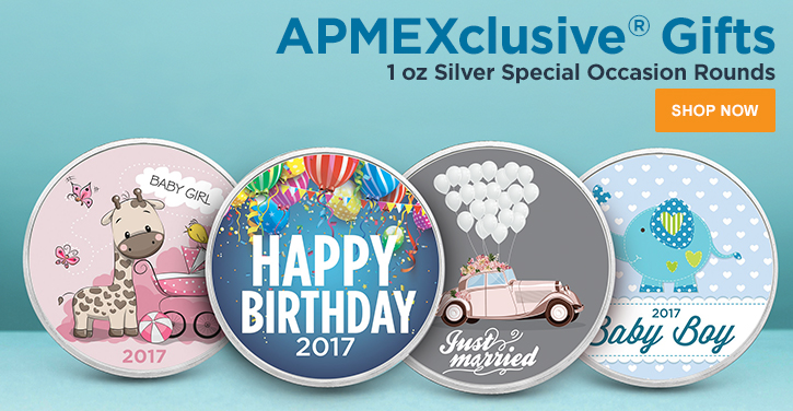 Special Occasion Silver Rounds