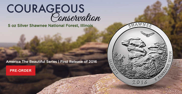 2016 5 oz Silver ATB Shawnee National Forest