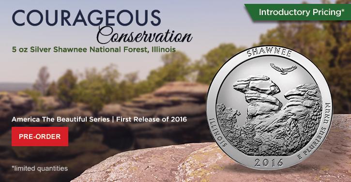 2016 5 oz Silver ATB Shawnee National Forest