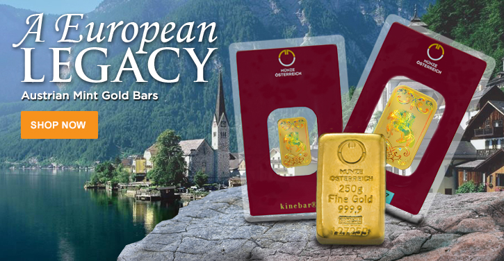 Austrian Mint Gold Bars