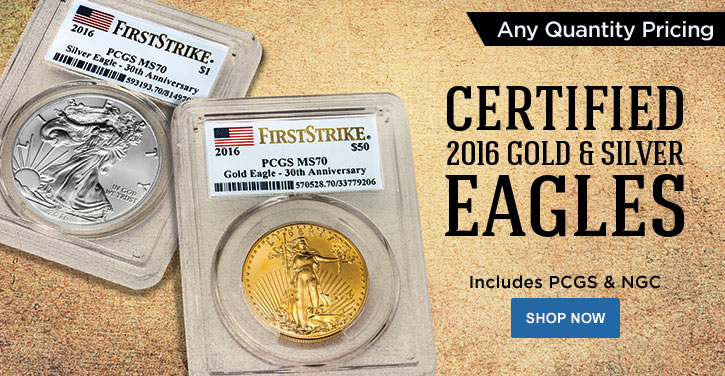 2016 Certified Gold Eagles