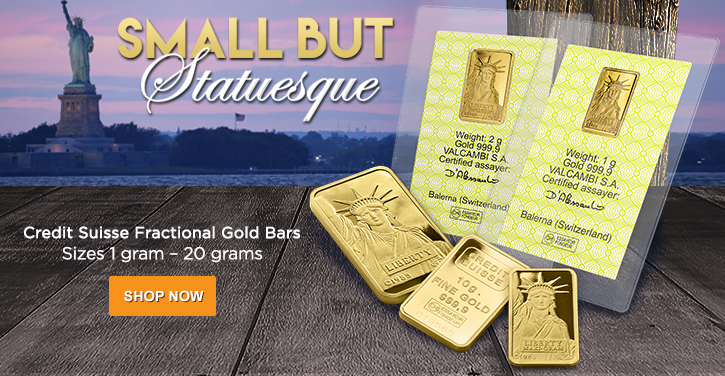 Fractional Credit Suisse Gold Bars