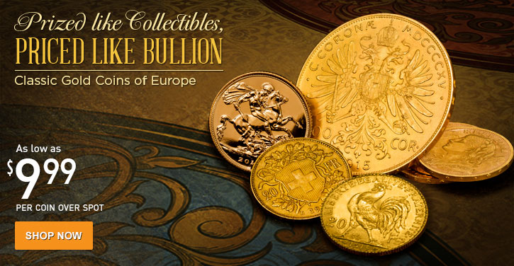 Classic Gold Coins of Europe