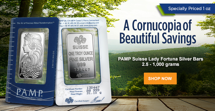 PAMP Suisse Fortuna Silver Bars