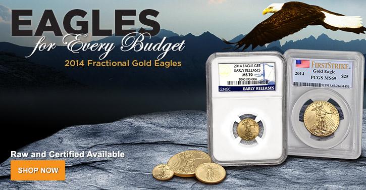 2014 Fractional Gold Eagles