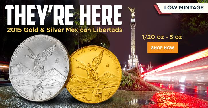 2015 Gold & Silver Libertads