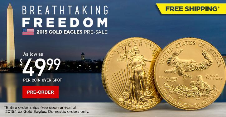 2015 Gold Eagles pre-sale