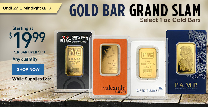 Gold Bar Grand Slam