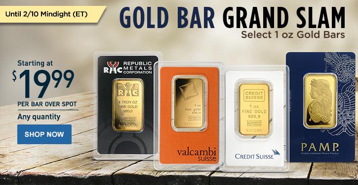Gold Bar Grand Slam