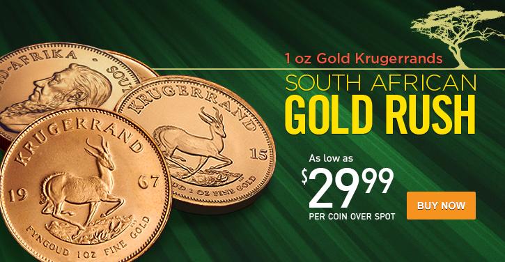 1 oz Gold Krugerrands