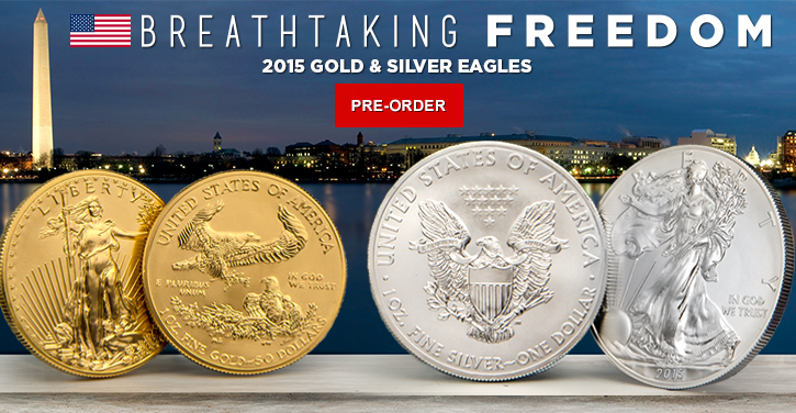 2015 Gold & Silver Eagle Pre-Sale