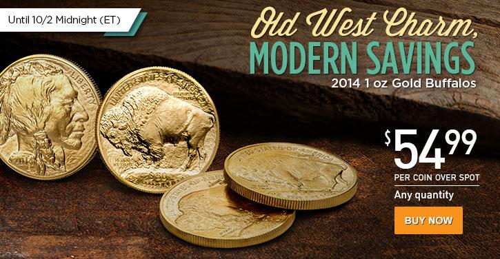 2014 1 oz Gold Buffalos (revised)