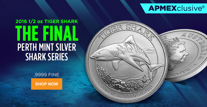 Perth Mint Tiger Shark