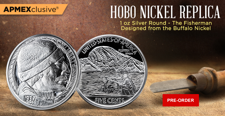 1 oz Silver Round Hobo Nickel