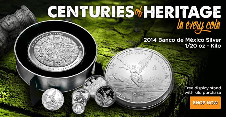 2014 Silver Banco de Mexico